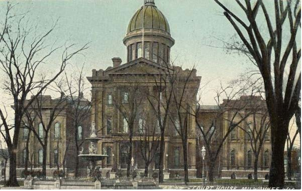 1910 ca Courthouse WHS